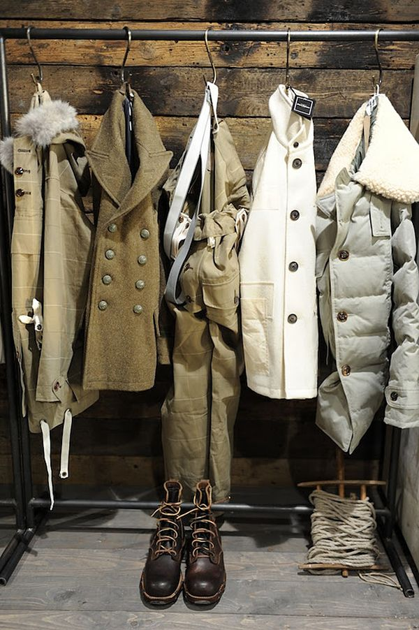 Nigel cabourn, Coats and Closet on Pinterest