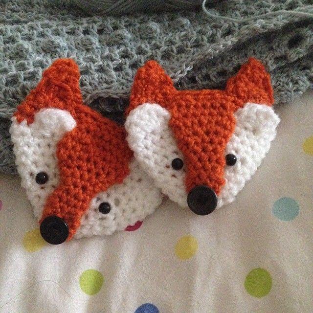 foxy crochet brooch: http://www.pinterest.com/pin/116952921548693789/