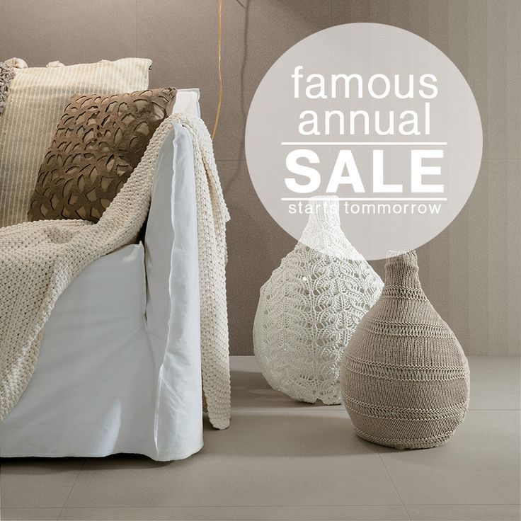 National Tiles Famous Annual Sale starts tomorrow! See website for more details   #nationaltiles #sale