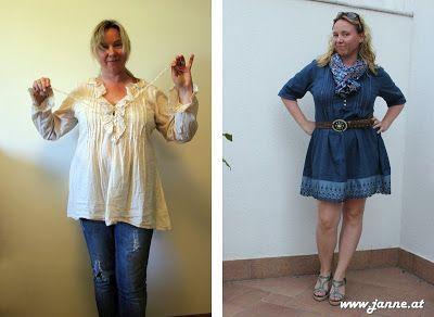 Von Tunika zum Cowgirl-Kleid Refashion