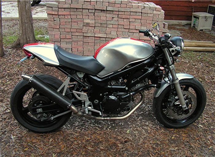 Sv650 Custom Monster Seat And Tail Future Custom