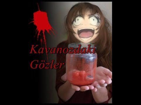 HALLOWEEN II Kendin Yap- Kavanoz İçerisindeki Gözler/ Diy- Jar of Eyeballs - YouTube