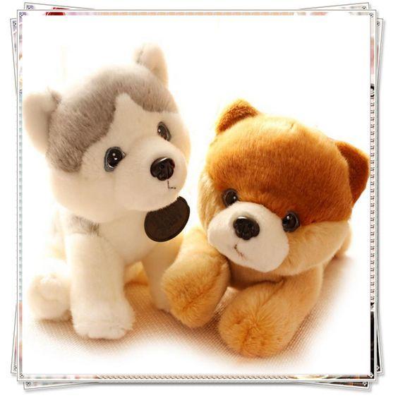 Plush Husky Dog Plush Toys Spongebob Unicorn Toy Kawaii Plush Cute