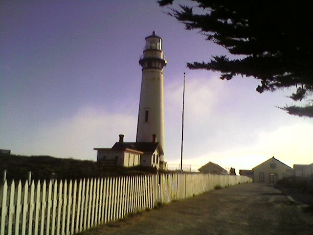Pigeon Point Lighthouse near SF ca. There's a Hostel there for weary travelers.