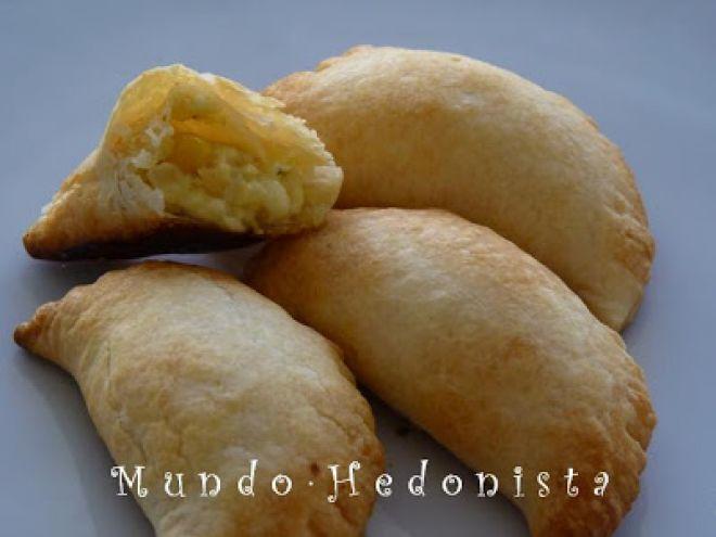Receta Aperitivo : Empanadas de choclo y queso por Mandarina