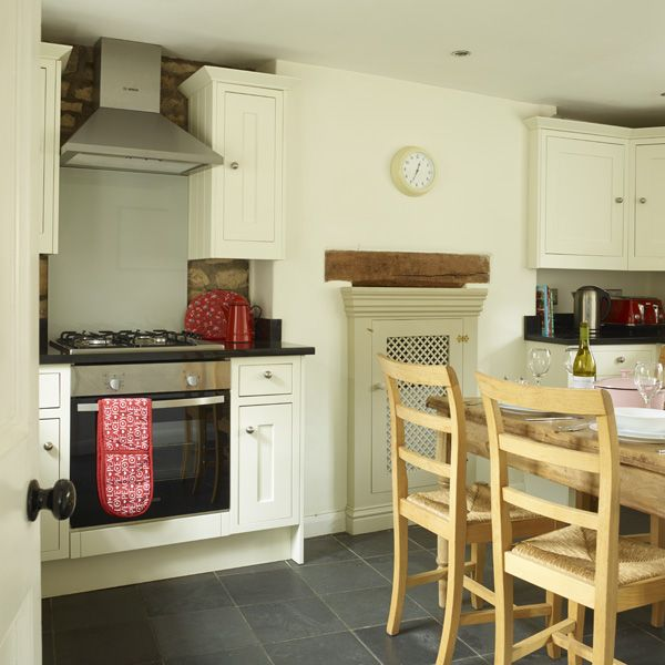 our cosy eat-in kitchen at two chapel lane