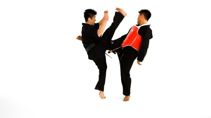 Watch more How to Do Taekwondo videos: http://www.howcast.com/videos/508738-How-to-Do-a-Double-Roundhouse-Kick-Taekwondo-Training Learn how to defend yoursel...