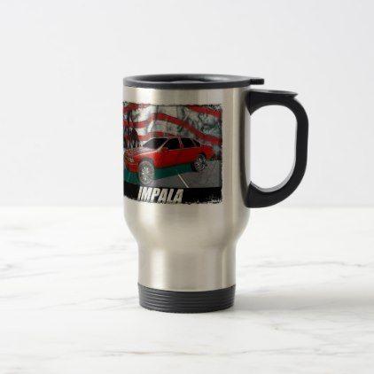 1995 Impala Travel Mug  $24.95  by RiderCoach84  - cyo customize personalize unique diy idea