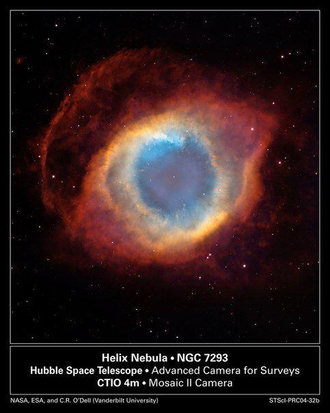 NGC 7293: туманность Улитка / Astro Analytics