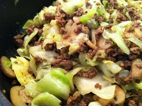 Cabbage Stir-Fry -- Made this with ground turkey and it was a family HIT!!