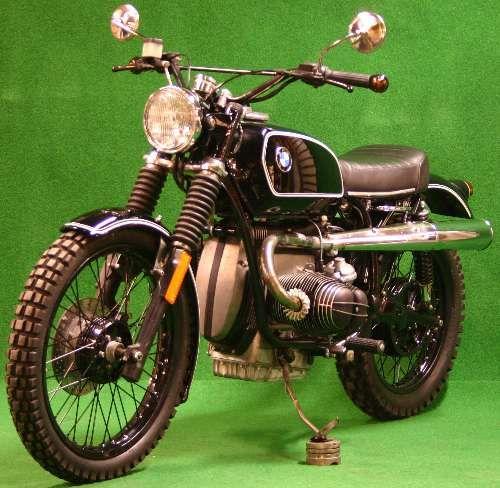 moto clasic modification: BMW R100 Scrambler KlassiK