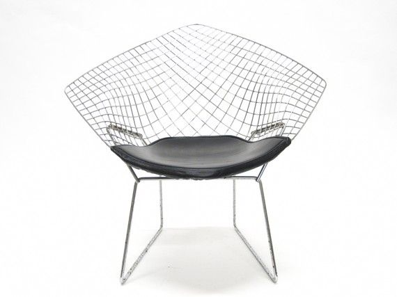 Mid century Modern Bertoia Diamond Chair