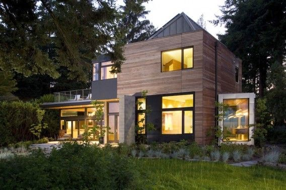 The Ellis Resident, LEED Platinum home on Bainbridge Island, WA designed by coatesarchitect