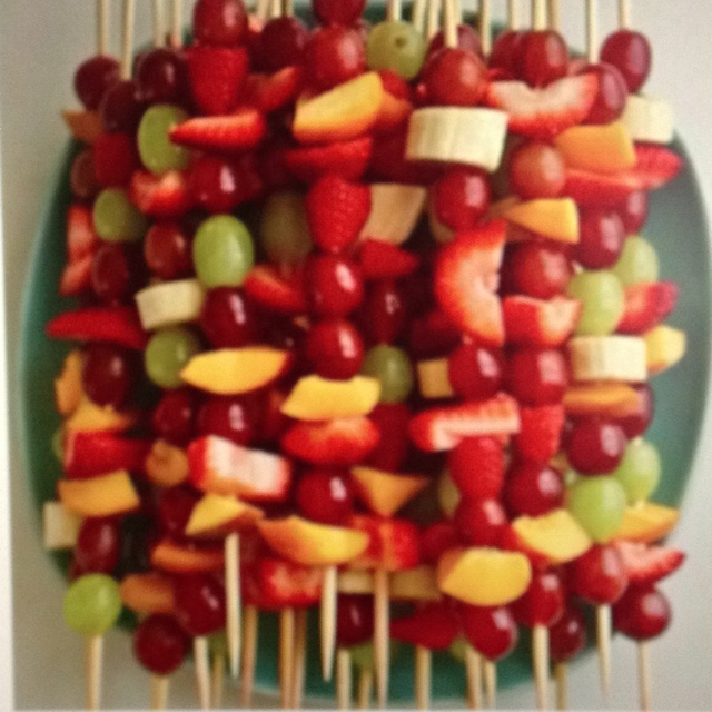 Fruity Fun Skewers Recipes — Dishmaps