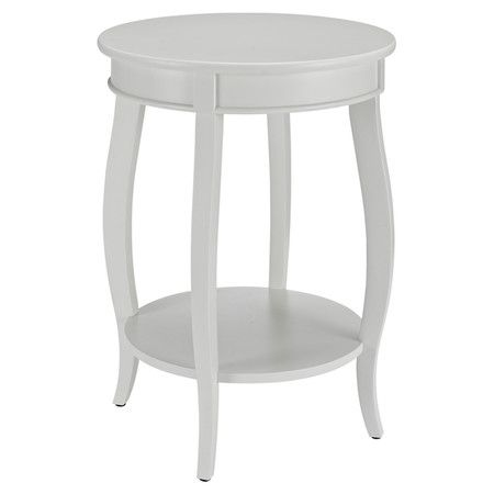 Target Powell Round Table With Shelf   Assorted Colors