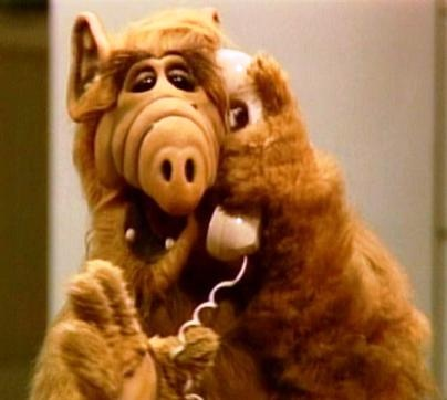 Alf Tv series. Lindsey loved her stuffed Alf..