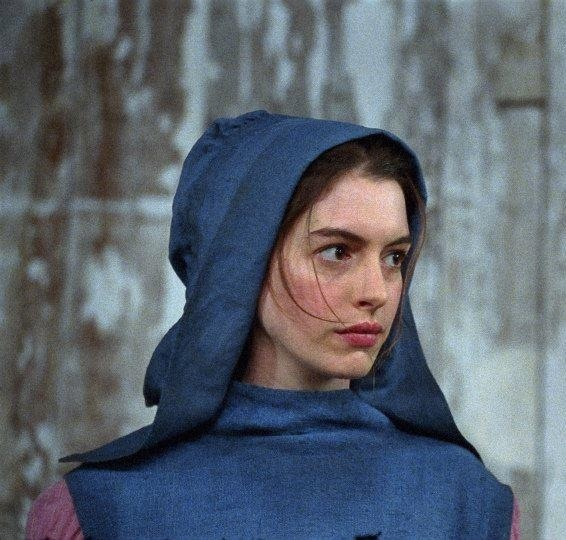 Anne Hathaway as Fantine in Victor Hugo's Les Miserables 2012