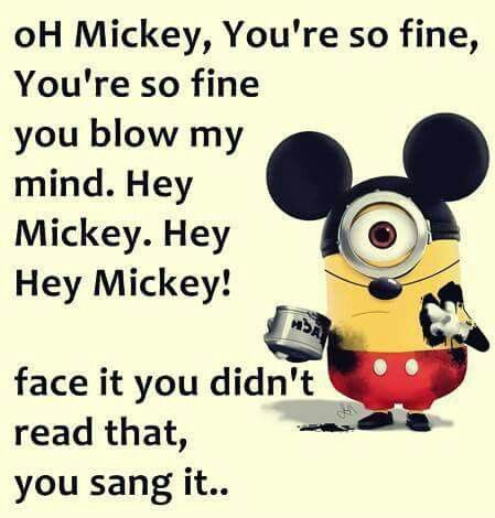 Hahaha, you didn't read it. You sang it.