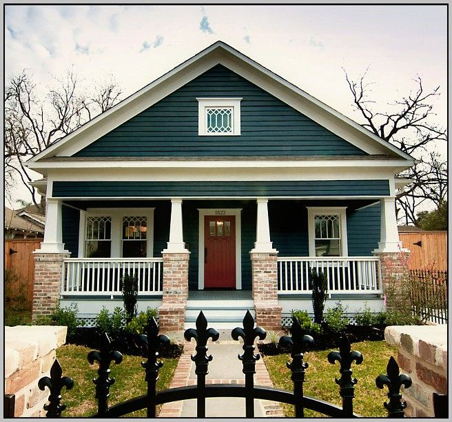 blue craftsman style house interior and exterior pics wonderful