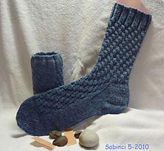 Pflastersteine / Cobblestones socks by Bea John