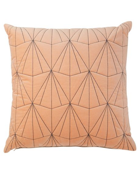 Add a contemporary statement to your home decor with this Nexus cushion from the Tilly@home range.