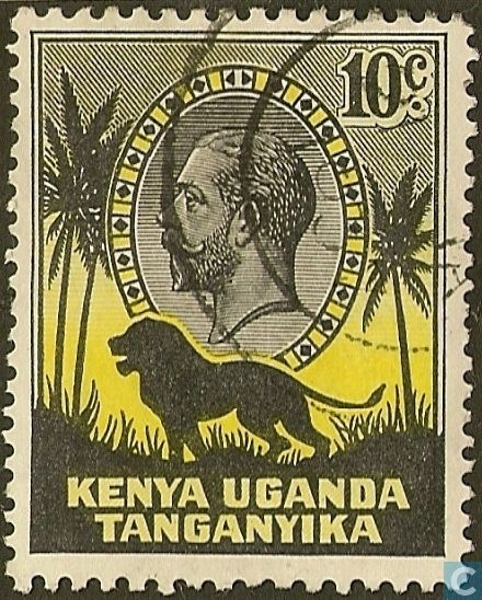 Postage Stamps - East African Community - King George V and Lion