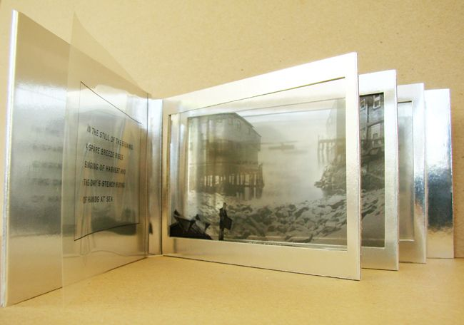 Artists Book - At Day's End by Anne-Claude Cotty
