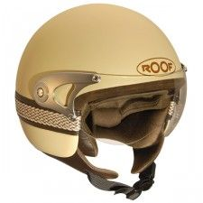 Casque Roof Metis #speedwayfr #speed #france #scooter #casque #gold #casques