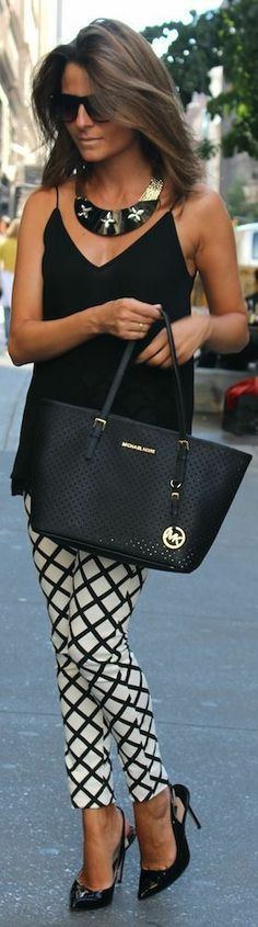 Casual Street Style Look Michael Kors Outfit Cool ...