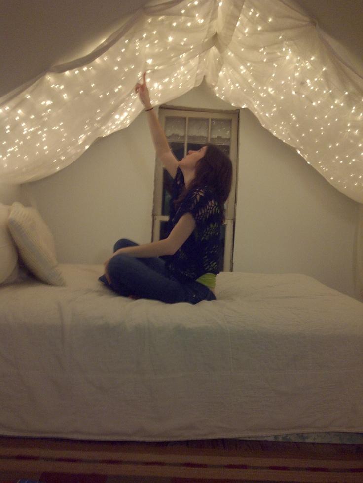 My version of earlier Pin-idea. Extra reading / chill / bedroom.