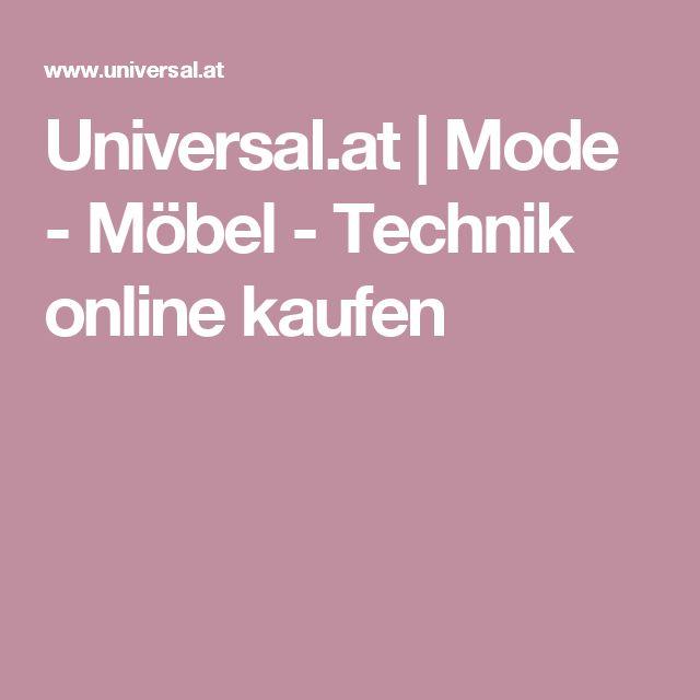 Universal.at | Mode - Möbel - Technik online kaufen