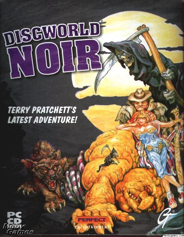 Discworld Noir Sviluppatore:Perfect Entertainment Distributore:Halifax Data Rilascio:Q4 1999 Piattaforma:PC Caratteristiche Genere:Noir Visuale:Terza Persona Controllo:Mouse Doppiaggio:Inglese Sottotitoli:Italiano
