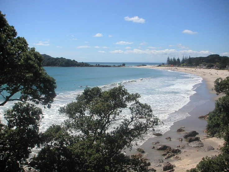An amazing view of main Beach from the Mount walkway