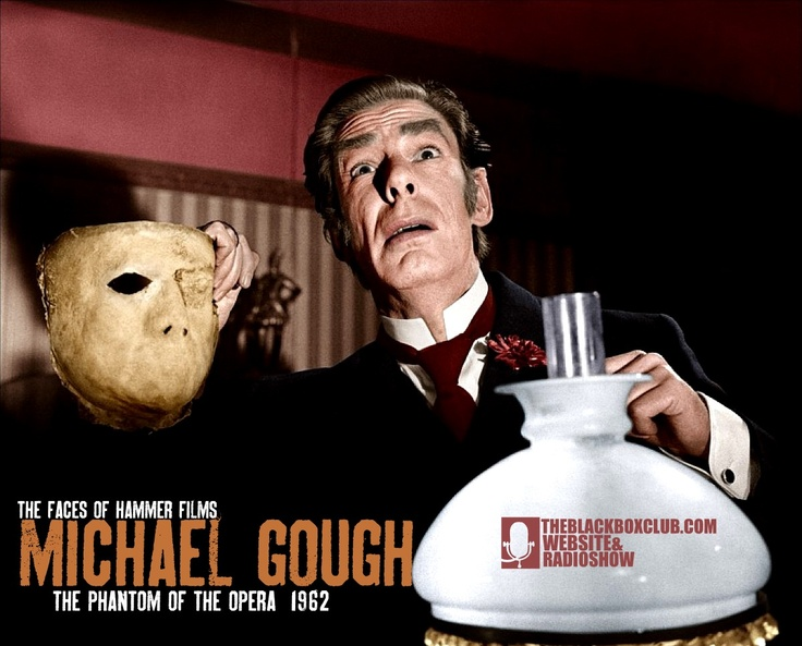 The Black Box Club: HAMMER FILM PRODUCTIONS: THE FACES OF HAMMER FILMS 11# MICHAEL GOUGH