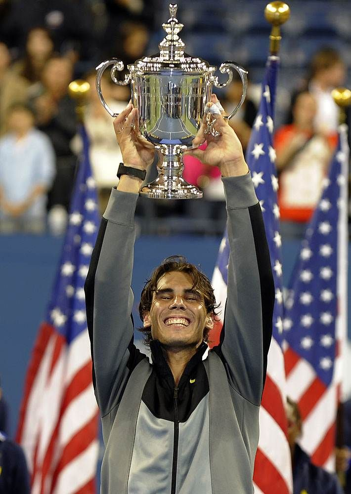Rafael Nadal!! He is a aborn victor - by http://www.echunav.com/
