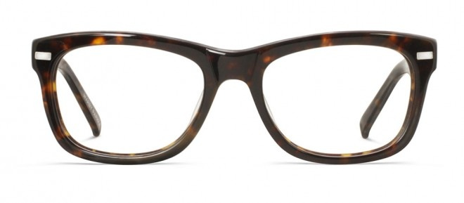 Warby Parker (and they have a Buy One Give One charity - awesome). Warby Parker's Thatcher for $95.00 http://www.warbyparker.com/women/optical/womens-eyewear-thatcher-eyeglass-frame-dark-tortoise