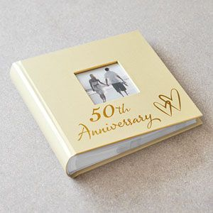 Golden wedding anniversary personalised gifts
