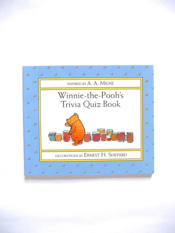 Winnie-the-Pooh's Trivia Quiz Book Inspired by A.A. Milne