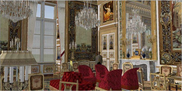 Salon de famille du roi louis xviii sous la restauration for Salon hotellerie restauration paris