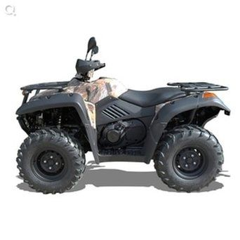 Terrain 600 quad bike for farm use. ATV and farm quad bikes from Quadzilla for smallholder farmers. 4WD system ideal for towing ATV trailers, paddock cleaners, paddock toppers, flail mowers, chain harrows. For more info: http://www.fresh-group.com/quad-bike.html