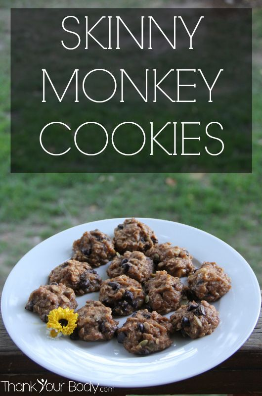 Skinny Monkey Cookies are vegan, gluten free, and low in sugar. They'll satisfy your sweet tooth and fuel your body with healthy nutrients at the same time!