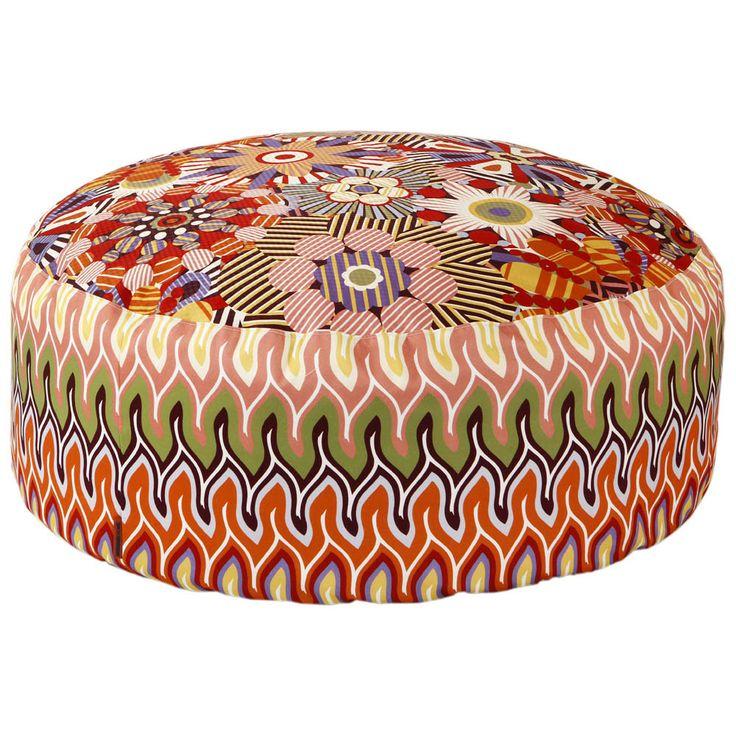 Naima/Nadaun Beanbag Pouf - DD059 - 80x35cm from Missoni Home