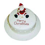 Christmas Santa Cake