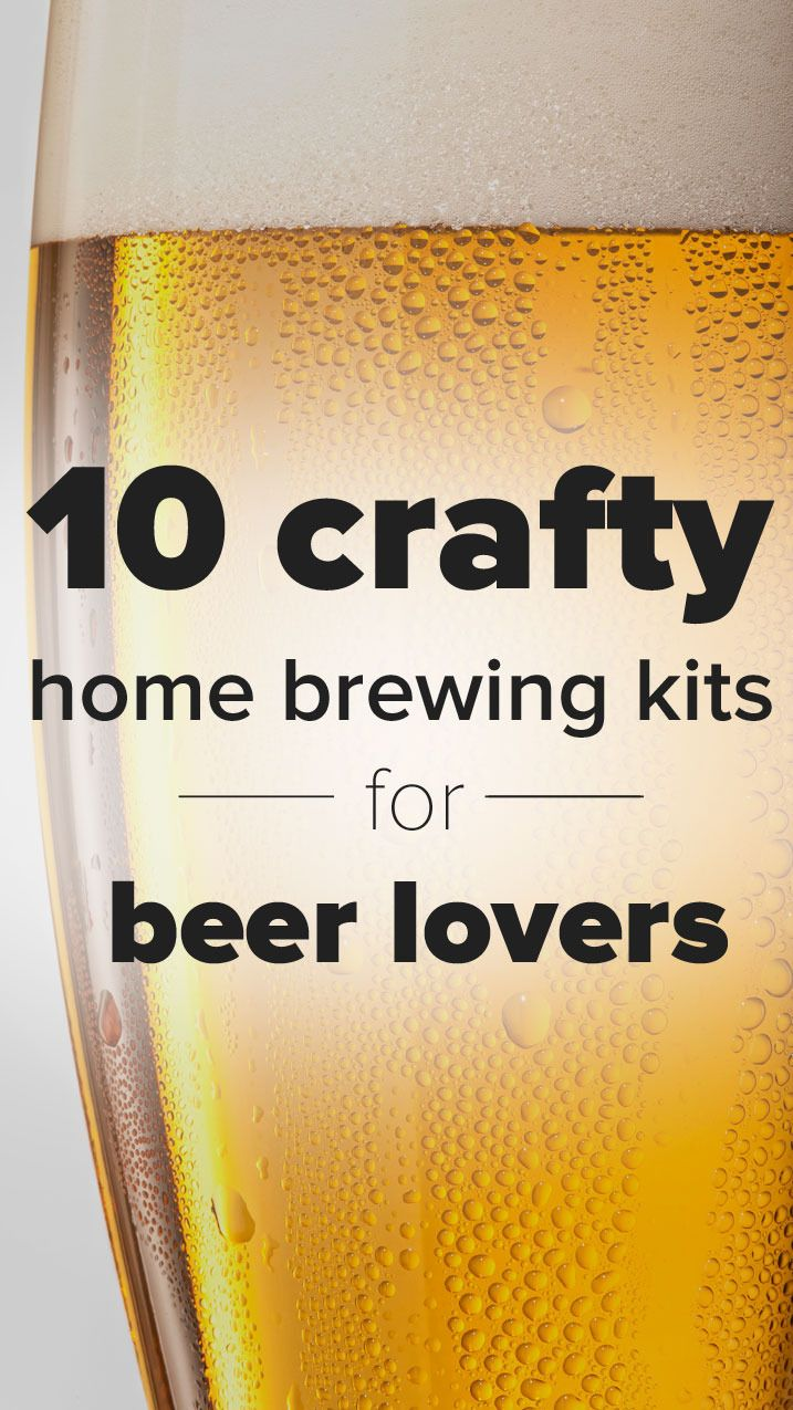 Ten crafty home brewing kits for beer lovers
