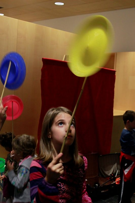 Musicircus for children, curated by Francesca Aste, Mart up! Vivi il museo, october 2012