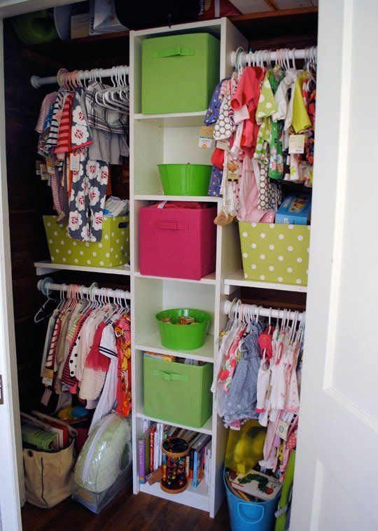 Looking Inside: Kids' Organized Closets | Apartment Therapy