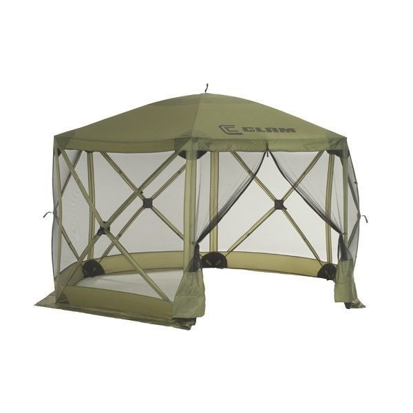 Clam quick set escape screen tent clams screen tent and for Camping outdoor kuche