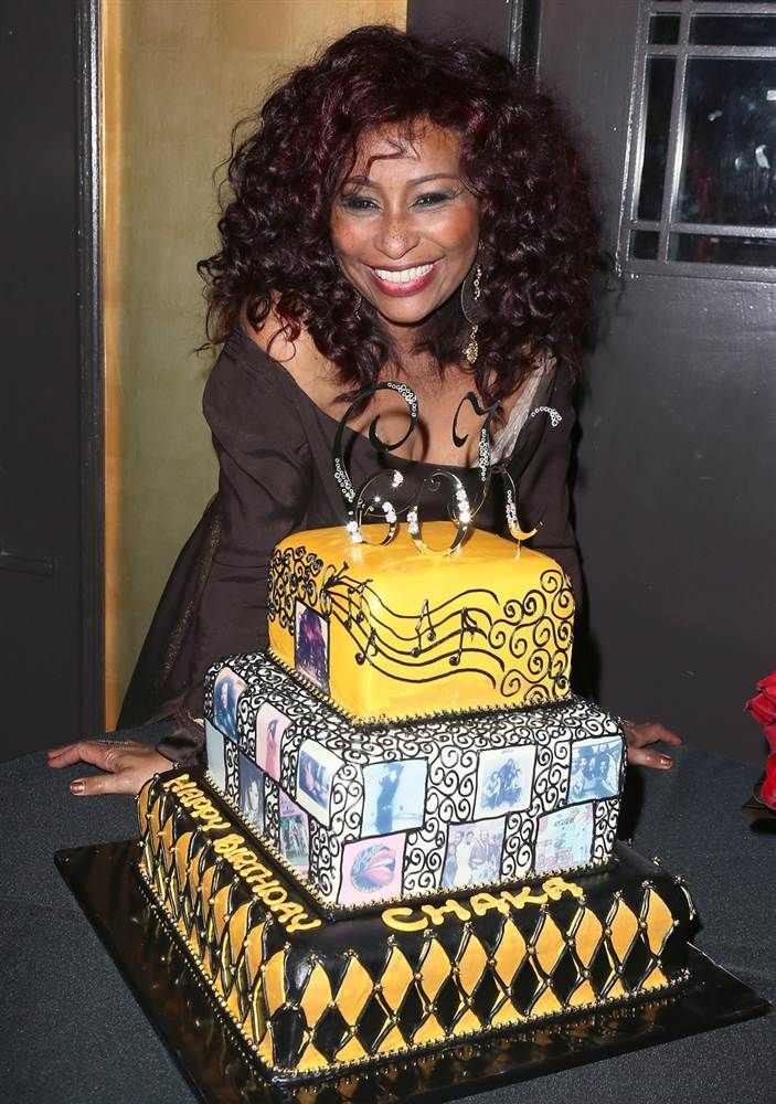 Chaka Khan on her 60th birthday