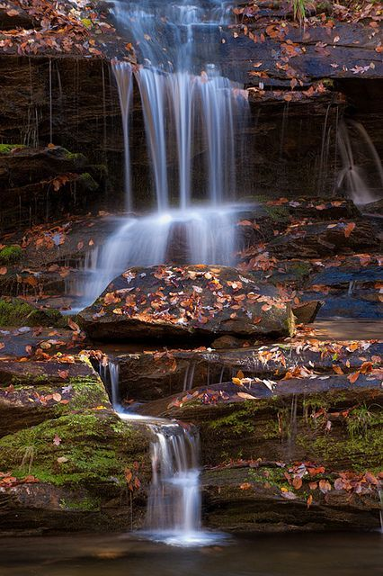 Toms Branch Falls Waterfall National Parks Beautiful