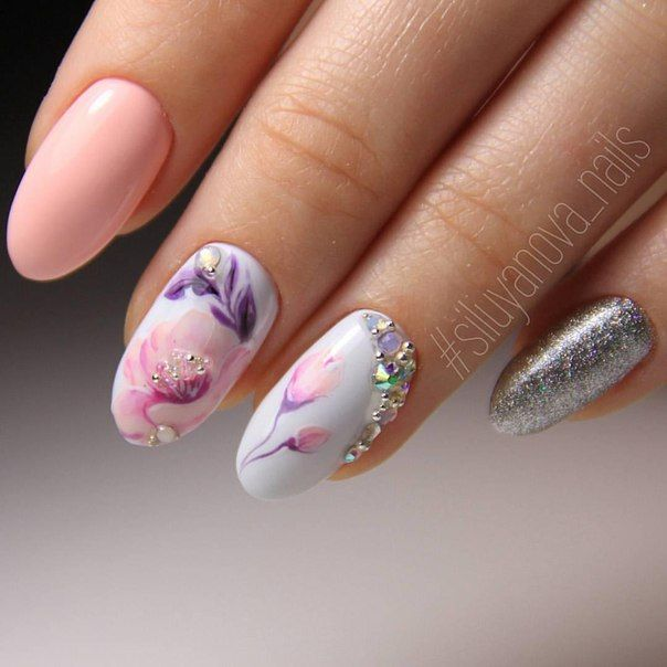 Pink and metallic nails - Best 25+ Beautiful Nail Designs Ideas Only On Pinterest Fun Nail